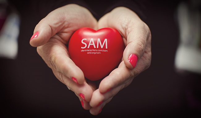 My Heart Belongs to SAM | Photo by Brittany Laeger