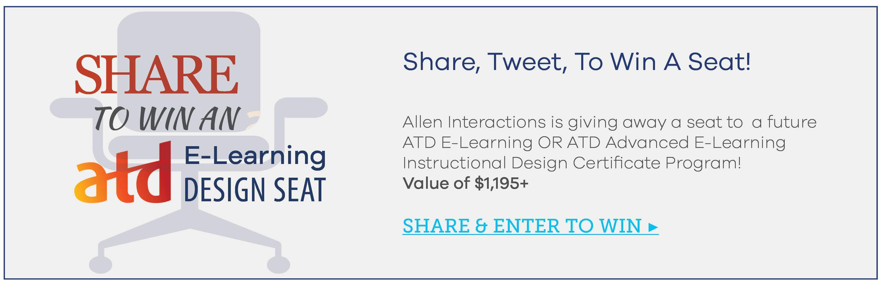 3 Reasons To Attend Atd S E Learning Instructional Design Training