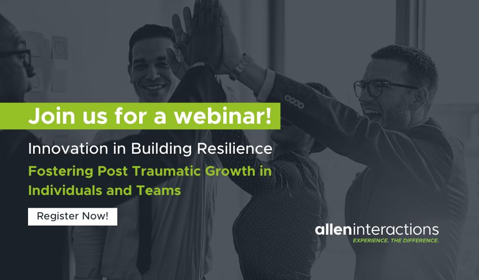 CTA Innovation in Building Resilience Webinar