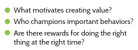 What are the motivating factors for strong performers?