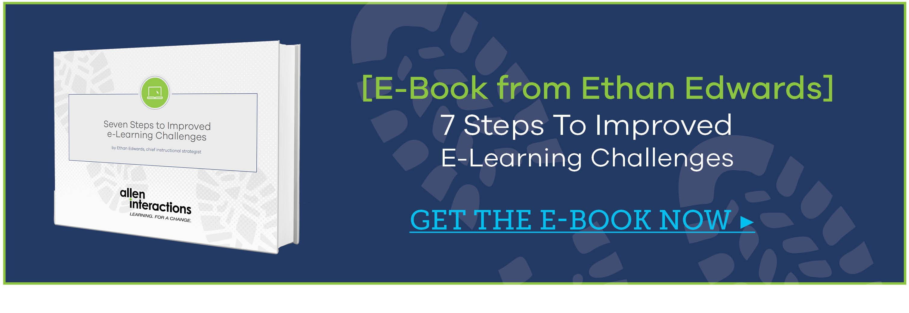 7 Steps To Improved E-Learning Challenges E-Book